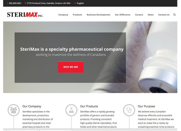 sterimax-new-website